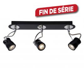 Spot noir Samba LED GU10 15 W dimmable LUCIDE