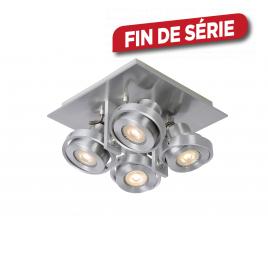 Spot chromé Landa LED GU10 20 W dimmable LUCIDE