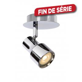 Spot chromé Sirene-LED GU10 5 W dimmable LUCIDE