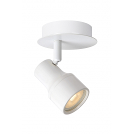 Spot blanc Sirene-LED GU10 5 W dimmable LUCIDE