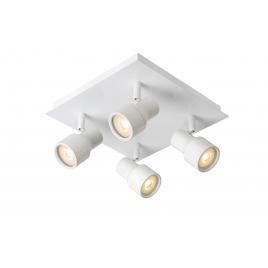 Spot blanc Sirene-LED GU10 20 W dimmable LUCIDE