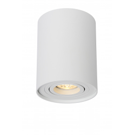 Spot blanc Tube GU10 35 W dimmable LUCIDE