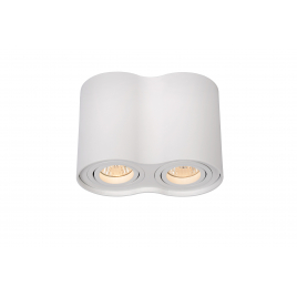 Spot blanc Tube GU10 70 W dimmable LUCIDE