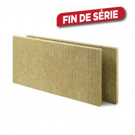 Panneau d'isolation Rochsono Solid 120 x 60 x 4,5 cm 10 pièces ROCKWOOL