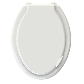 Abattant de toilette Falco en thermoplastique blanc ALLIBERT