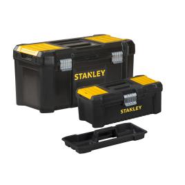 Set de coffres à outils Essential 19 L et 12,5 L 2 pièces STANLEY