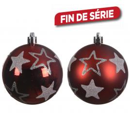 Boule de Noël Etoile Ø 8 cm