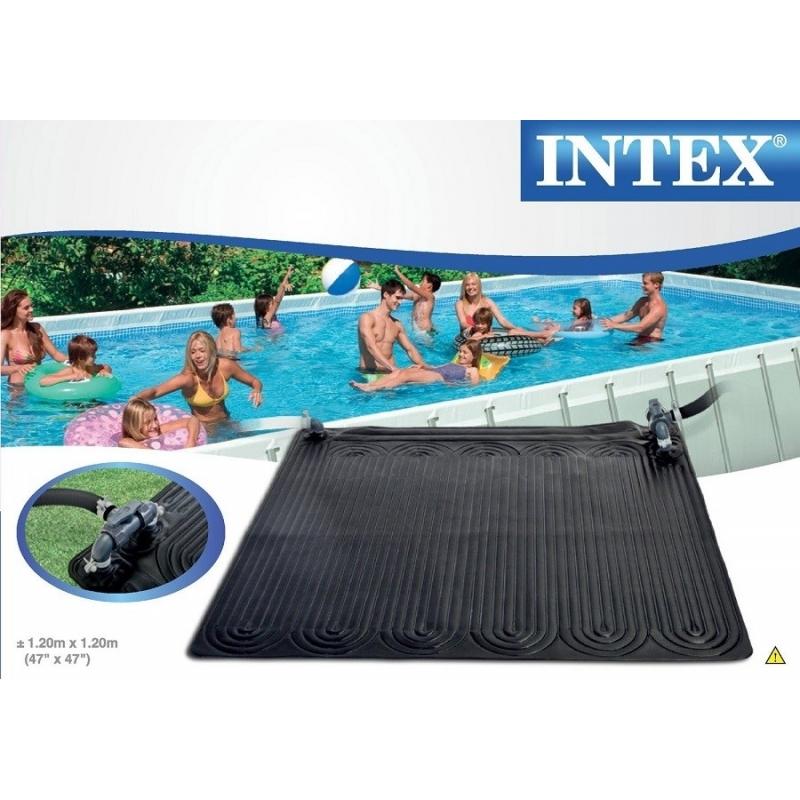 Tapis solaire intex for Chauffage solaire piscine compatible intex