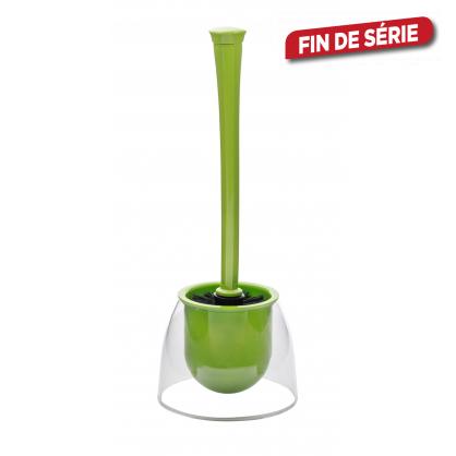 Brosse de toilette Fiesta verte WENKO