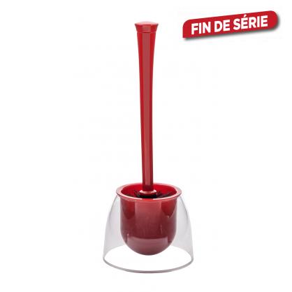 Brosse de toilette Fiesta rouge WENKO