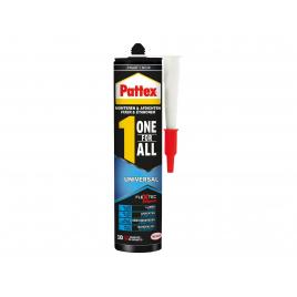 Mastic de fixation One for ALL Universal noir 390 gr PATTEX