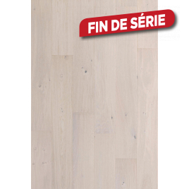 Parquet semi-massif Legend Manoir Blanc Imperial 1,56 m² BERRY ALLOC