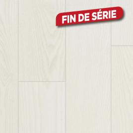 Sol stratifié Impulse V4 B&W White 2,2 m² BERRY ALLOC