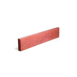 Bordure rouge 100 x 20 x 6 cm