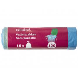 Set de sacs poubelle 120 L 10 pièces CASIBEL