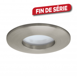 Spot encastrable nickelé mat Margo LED 5 W EGLO