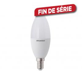 Ampoule LED flamme E14 8 W 806 lm blanc froid SYLVANIA