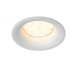 Spot encastrable rond blanc de salle de bain Ziva GU10 5 W dimmable LUCIDE