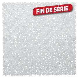 Tapis de douche antidérapant Flor 54 x 54 cm blanc SEALSKIN
