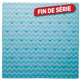 Tapis de douche antidérapant Leisure 53 x 53 cm bleu SEALSKIN
