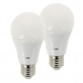 Ampoule LED classique E27 8 W 806 lm blanc chaud 2 pièces XANLITE