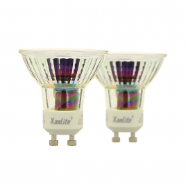 Ampoule LED GU10 5 W 345 lm blanc neutre 2 pièces XANLITE
