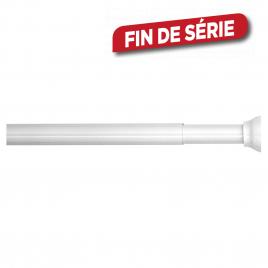 Barre de rideau de douche extensible 70-115 cm blanc SEALSKIN