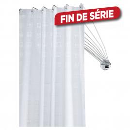 Barre de rideau de douche d'angle Umbrella chromé 80 cm SEALSKIN