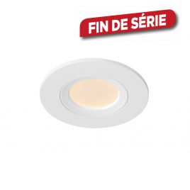 Spot encastrable de salle de bain Inky LED 6 W dimmable LUCIDE
