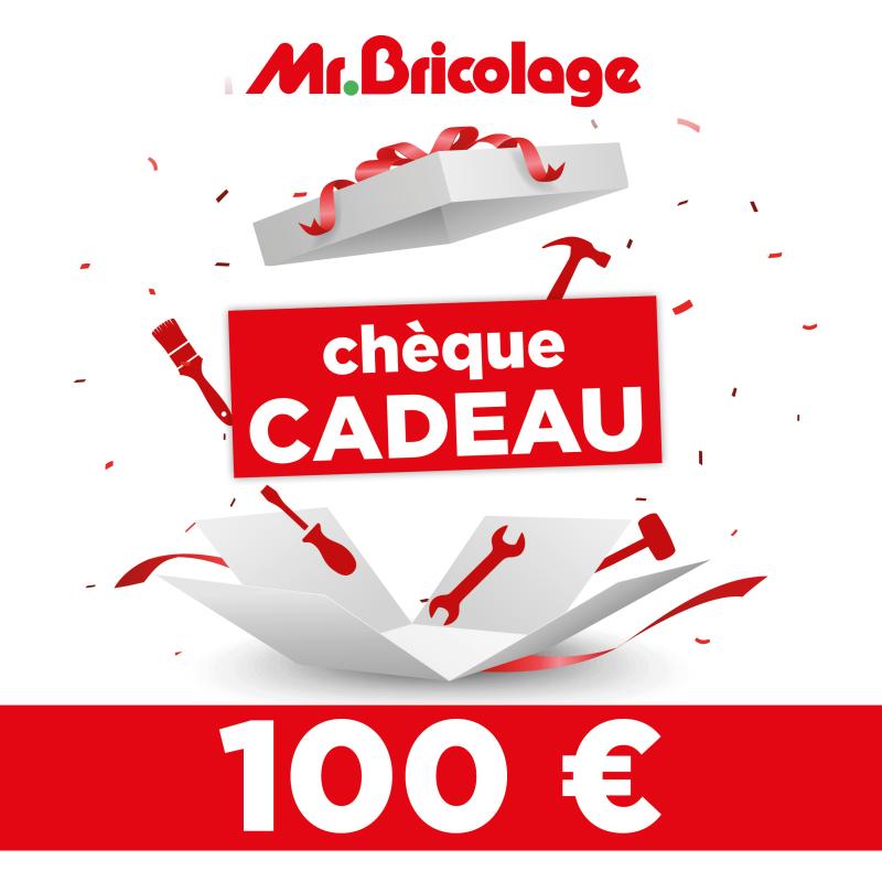 Cheque Cadeau Mr Bricolage 100