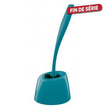 Brosse de toilette Happy bleu ALLIBERT