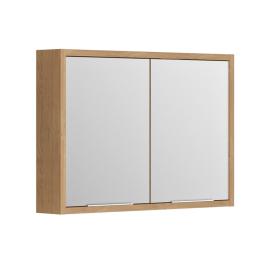 Armoire de toilette Sorento Chêne Kendal 80 cm ALLIBERT