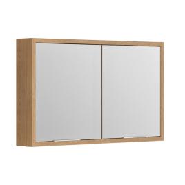 Armoire de toilette Sorento Chêne Kendal 120 cm ALLIBERT