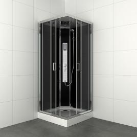 Cabine de douche Gipsy carrée 90 x 90 x 225 cm ALLIBERT