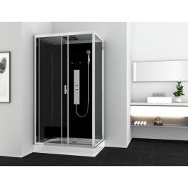 Cabine de douche Gipsy rectangulaire 120 x 80 x 225 cm ALLIBERT