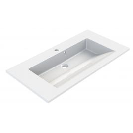 Plan de toilette Slide 80 cm blanc ALLIBERT