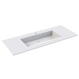 Plan de toilette Slide 100 cm blanc ALLIBERT