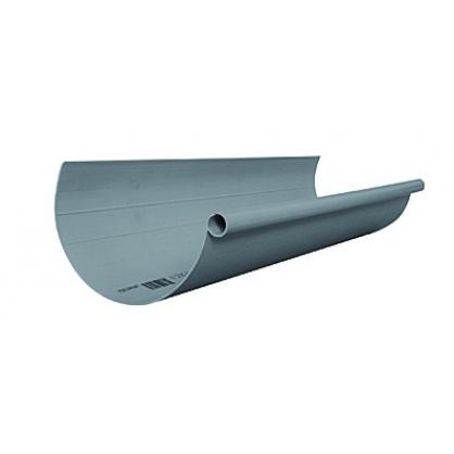 Gouttière G80 gris clair 2m SCALA PLASTICS