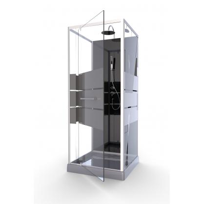 Cabine de douche Study 80 x 80 x 225 cm AURLANE