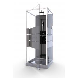 Cabine de douche Study 90 x 90 x 230 cm AURLANE