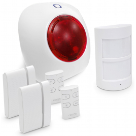 Système d'alarme sans fil 6 pièces CHACON