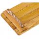 Siège de balançoire en bois exotique