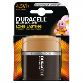 Pile alcaline Plus Power 4,5 V DURACELL