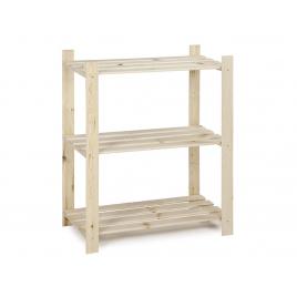 Etagère en bois Woody Rack 95 x 80 x 40 cm PRACTO HOME