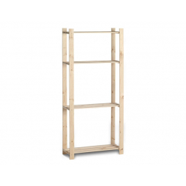Etagère en bois Woody Rack 175 x 80 x 30 PRACTO HOME