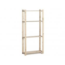 Etagère en bois Woody Rack 170 x 70 x 28 cm PRACTO HOME