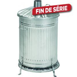 Incinérateur cylindrique 115 L PRACTO GARDEN