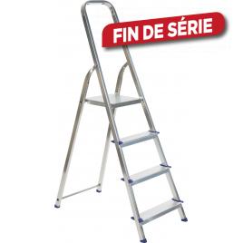 Escabelle en aluminium Easy Step 4 marches ESCALO