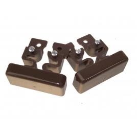 Embout DLP 32 x 12,5 mm brun LEGRAND