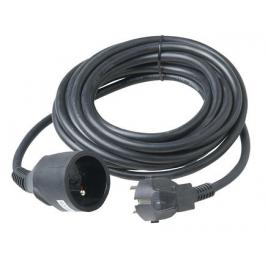 Allonge électrique en PVC 3G1.5 5 m noir PROFILE